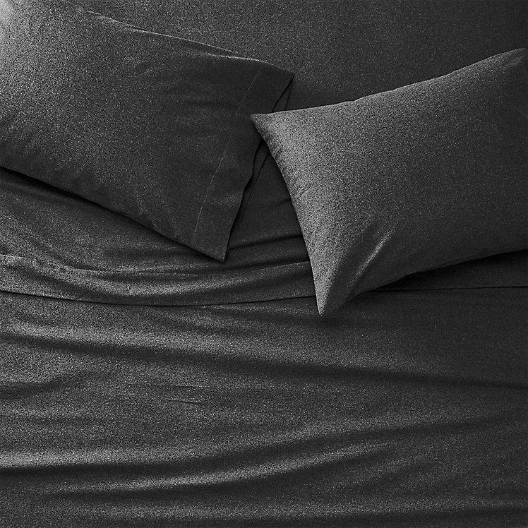 black flannel sheets twin xl