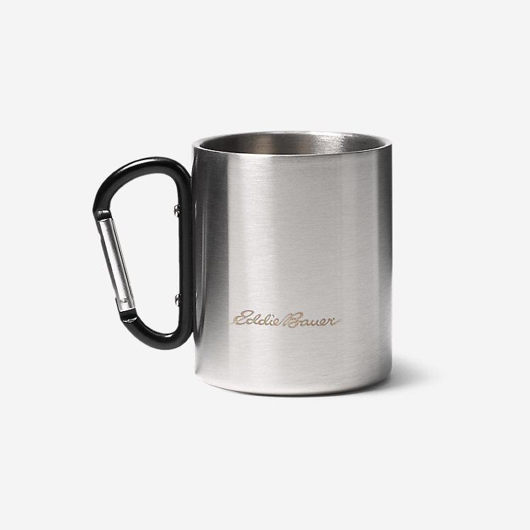 Eddie Bauer Double-Wall Cup w/ Carabiner large version