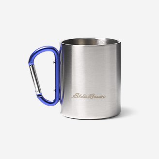 Thumbnail View 1 - Eddie Bauer Double-Wall Cup w/ Carabiner