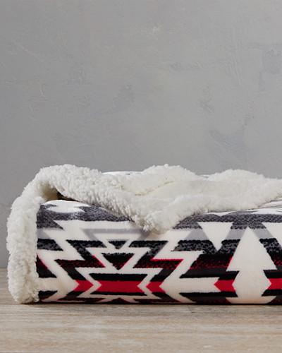cabin-fleece-throw by eddie-bauer