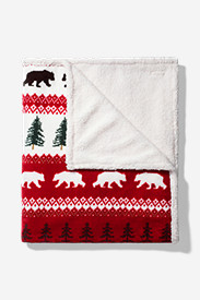 Cabin Fleece Throw