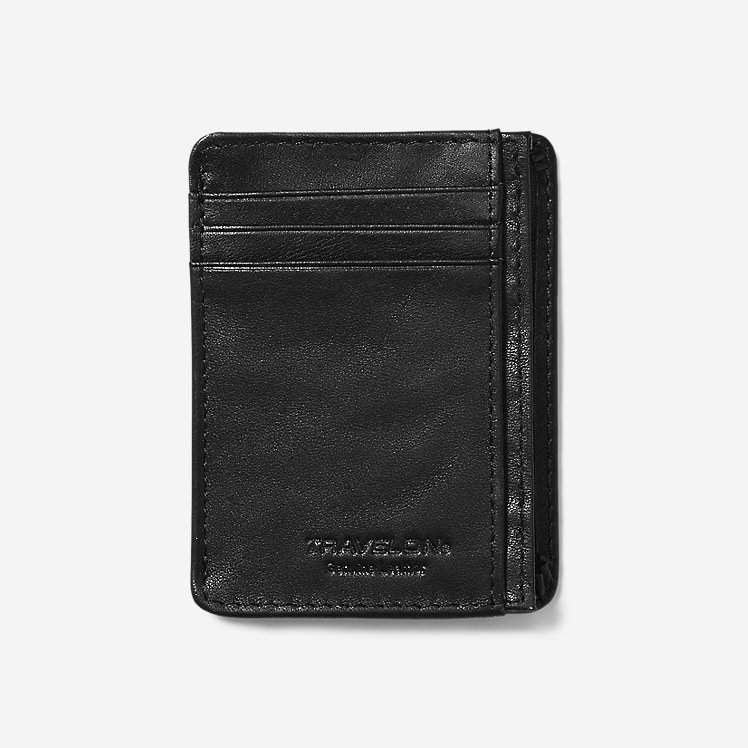 Travelon® RFID Leather Card Holder large version