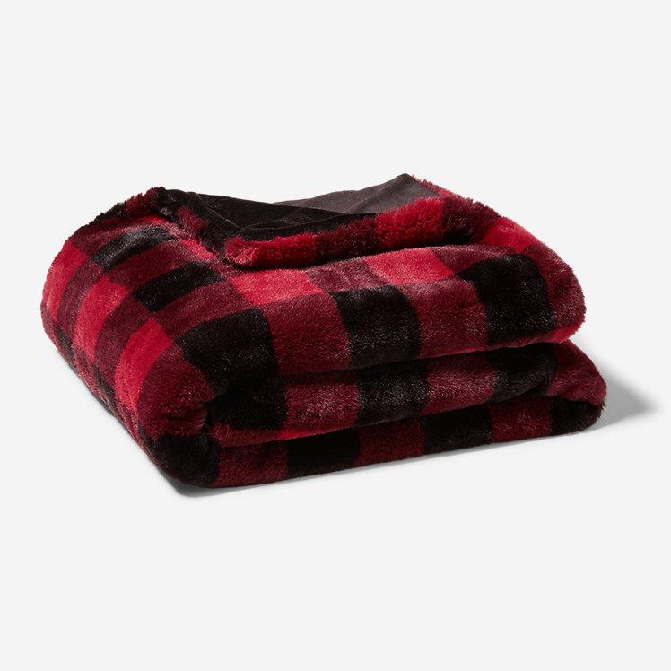 Cabin Faux Fur Throw large version