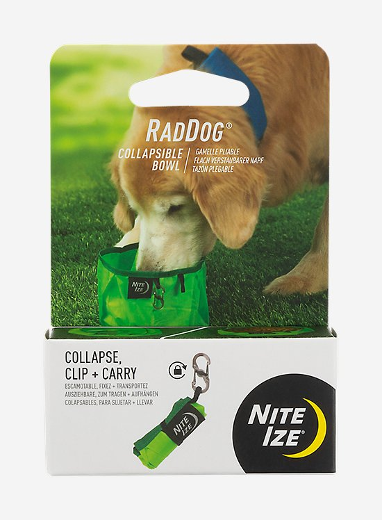 Nitelze Raddog Collapsible Bowl