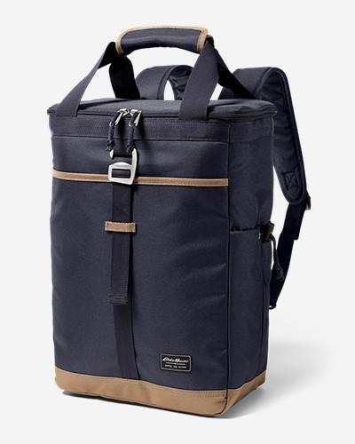 Eddie Bauer Bygone Backpack Cooler (Medium Indigo or Barn Red)