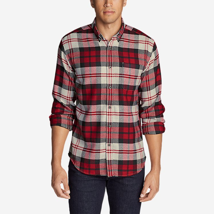 Men's Catalyst Flannel Shirt large version