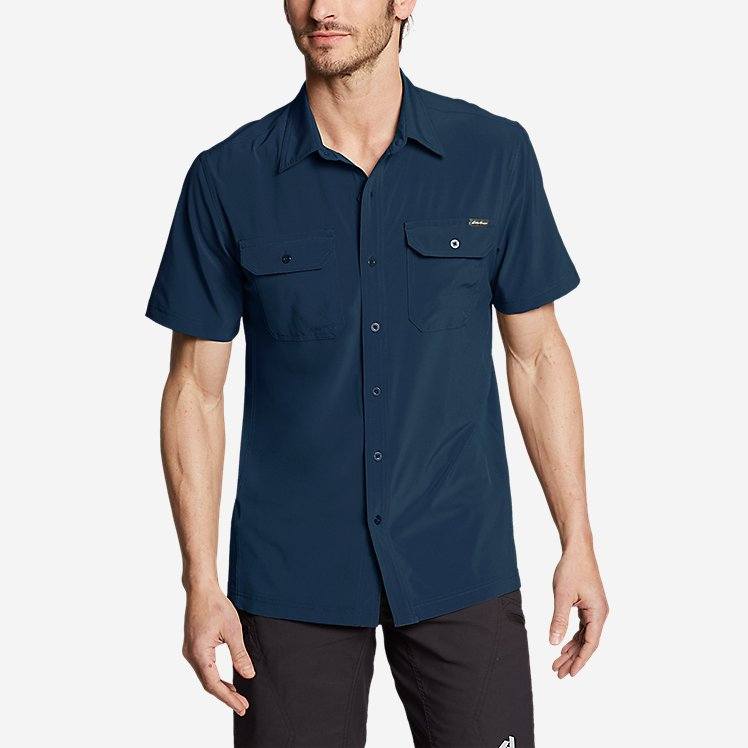 Men's Departure Short-Sleeve Shirt large version