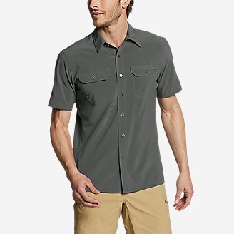 Thumbnail View 1 - Men's Departure Short-Sleeve Shirt