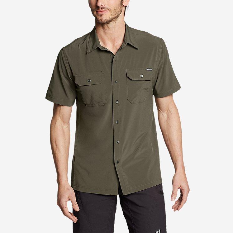 Men's Departure Short-Sleeve Shirt large version