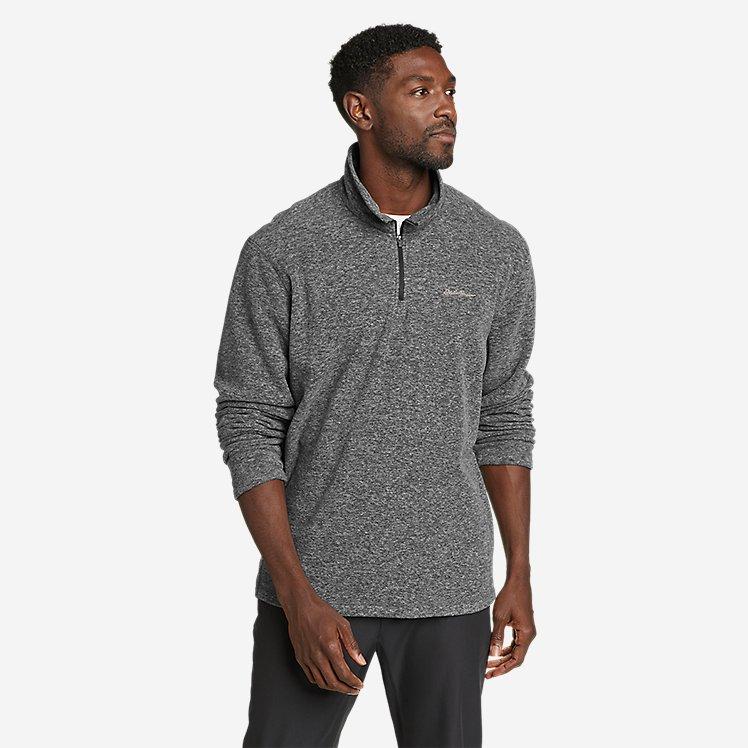 Men's Quest Fleece 1/4-Zip Pullover large version