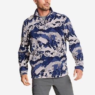 Thumbnail View 1 - Men's Quest Fleece 1/4-Zip Pullover