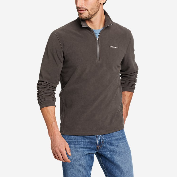 Men's Quest Fleece 1/4-Zip Pullover large version