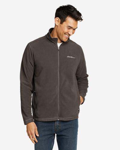 Men's Quest Fleece Full Zip Jacket by Eddie Bauer