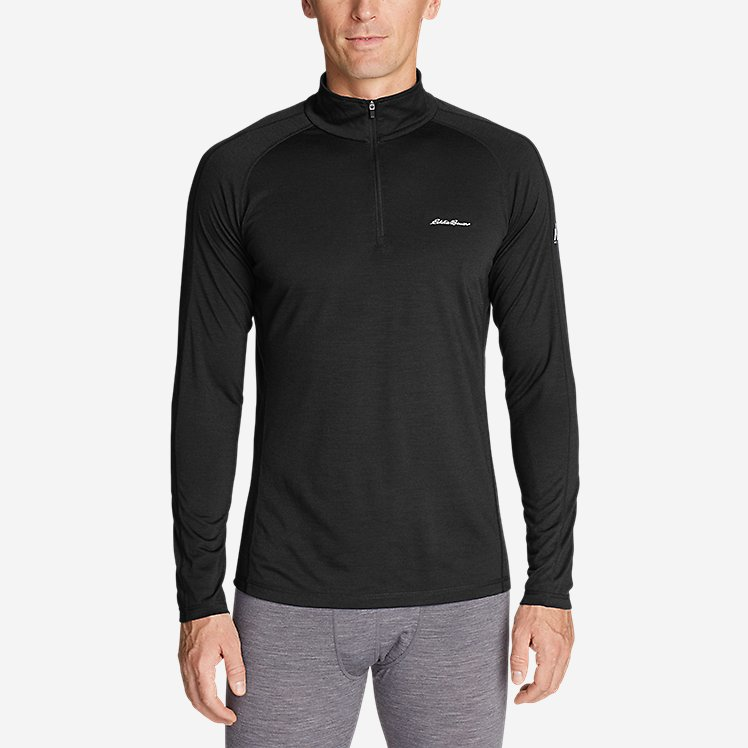 Men's Heavyweight FreeDry® Merino Hybrid Baselayer 1/4-Zip large version
