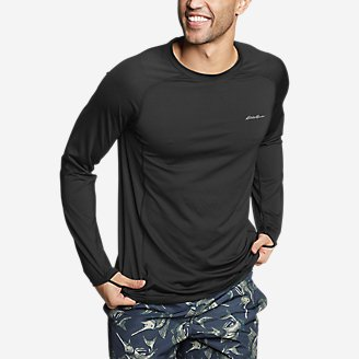 Thumbnail View 1 - Men's Amphib Long-Sleeve Sun T-Shirt