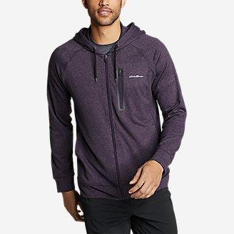 Thumbnail View 1 - Men's Resolution Tech Full-Zip Hooded Sweatshirt
