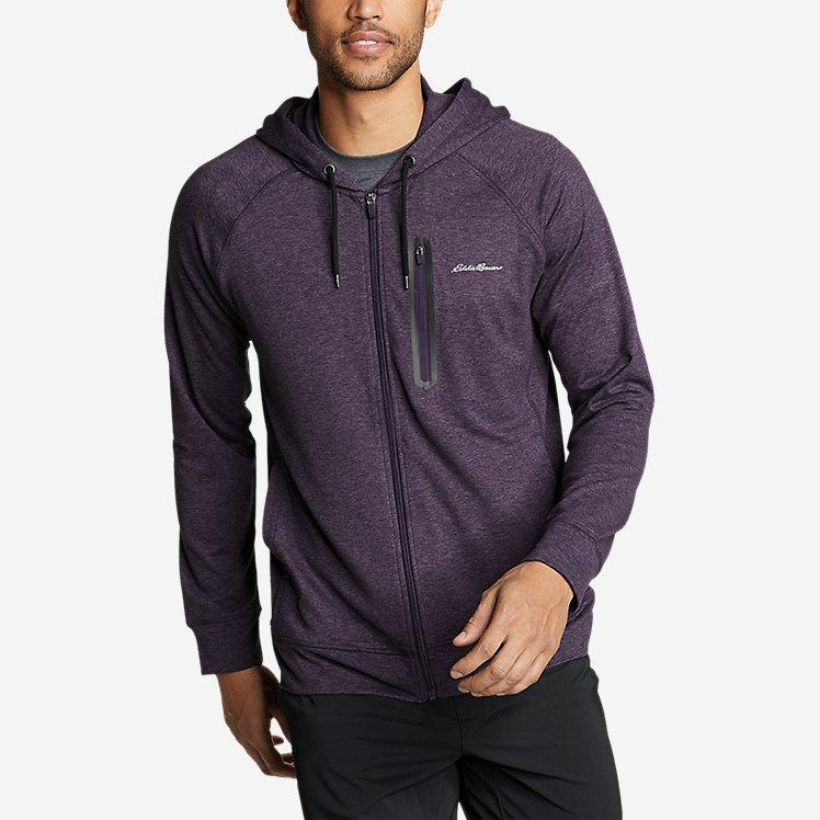 Men's Resolution Tech Full-Zip Hooded Sweatshirt large version