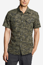 Men's Mountain Short-Sleeve Shirt - Print