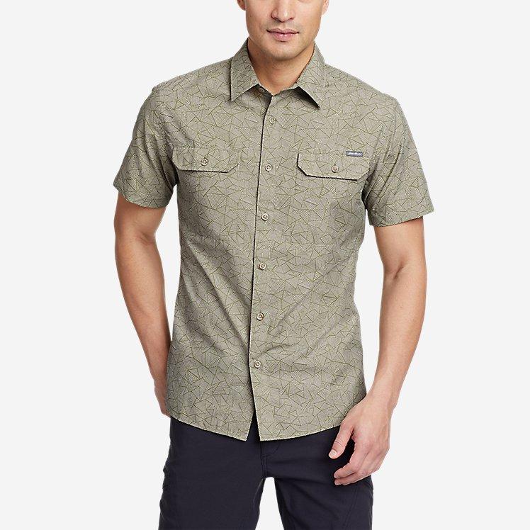 Men's Mountain Short-Sleeve Shirt - Print large version