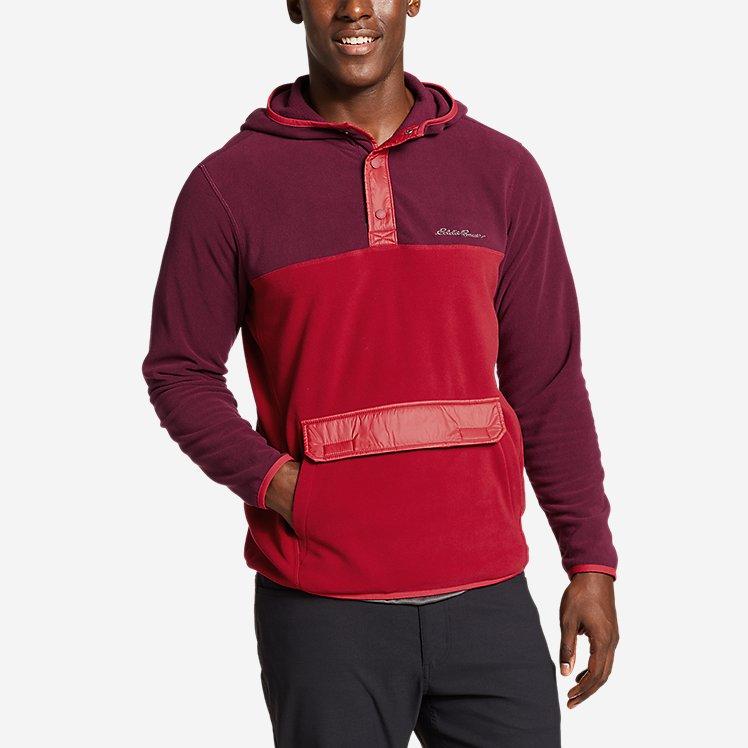 Men's Quest Fleece Snap Packable Anorak large version