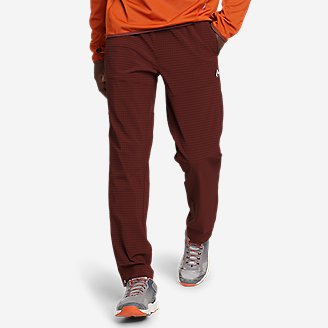 Thumbnail View 1 - Men's Guide Grid Pull-On Pants