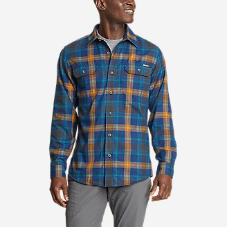 Thumbnail View 1 - Men's Eddie Bauer Expedition Performance Flannel Shirt