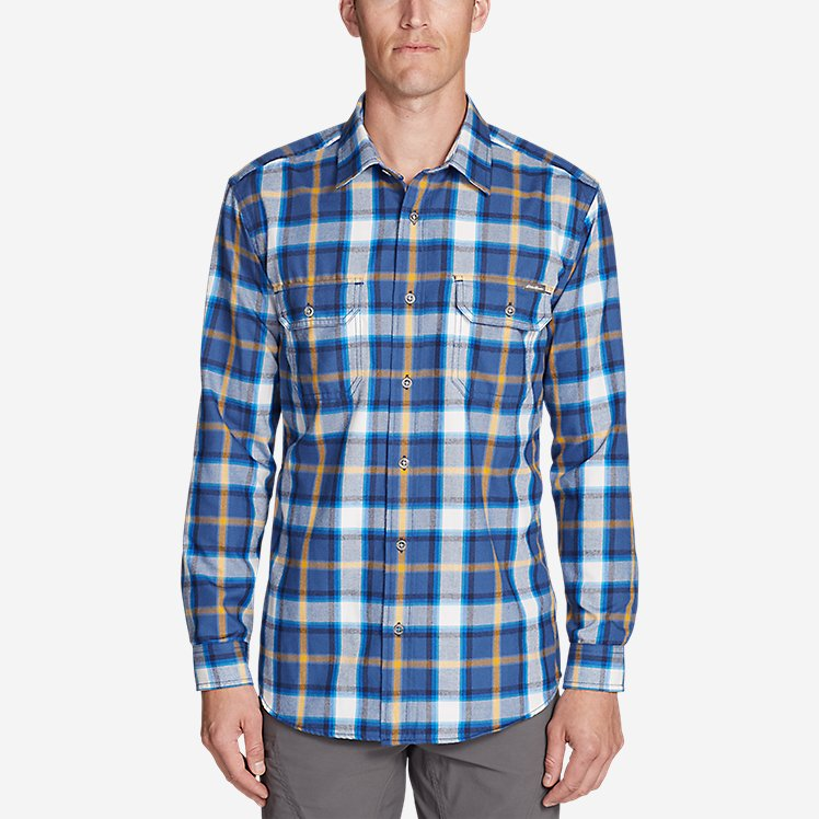 Men's Eddie Bauer Expedition Performance Flannel Shirt large version