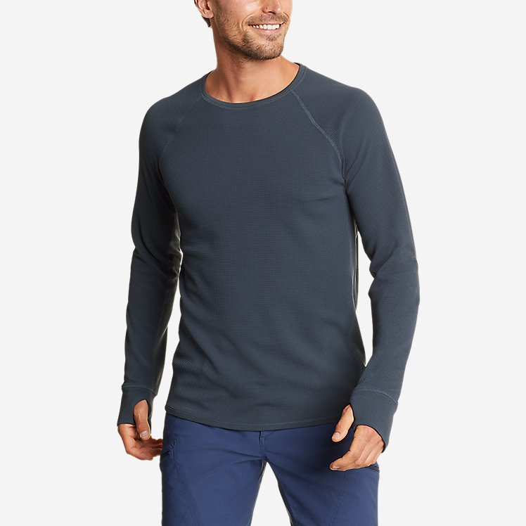 Men's Thermal Tech Crew large version