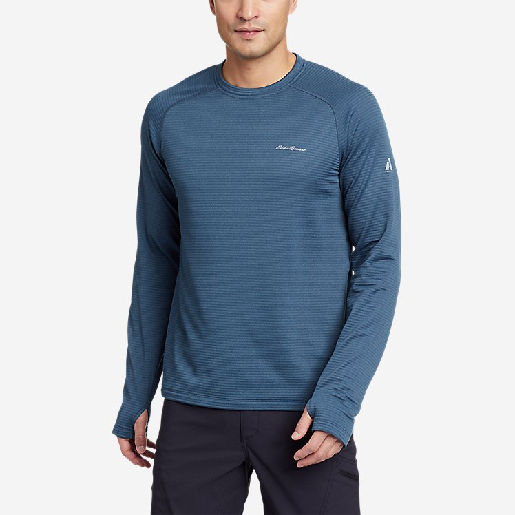 Men's High Route Grid Air Long-Sleeve Crew large version