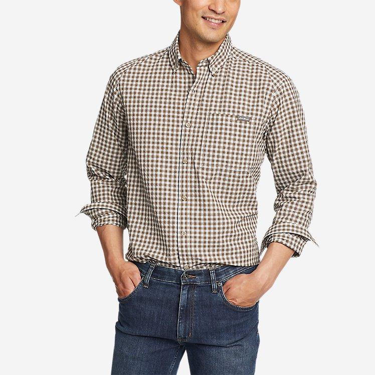 Men's Pack It Seersucker Long-Sleeve Shirt large version