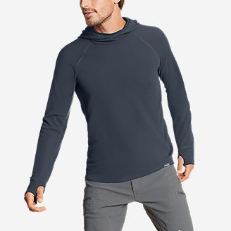 Thumbnail View 1 - Men's Thermal Tech Pullover Hoodie