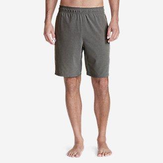 "Thumbnail View 1 - Men's Meridian Pro 9"" Shorts w/ Compression Liner"