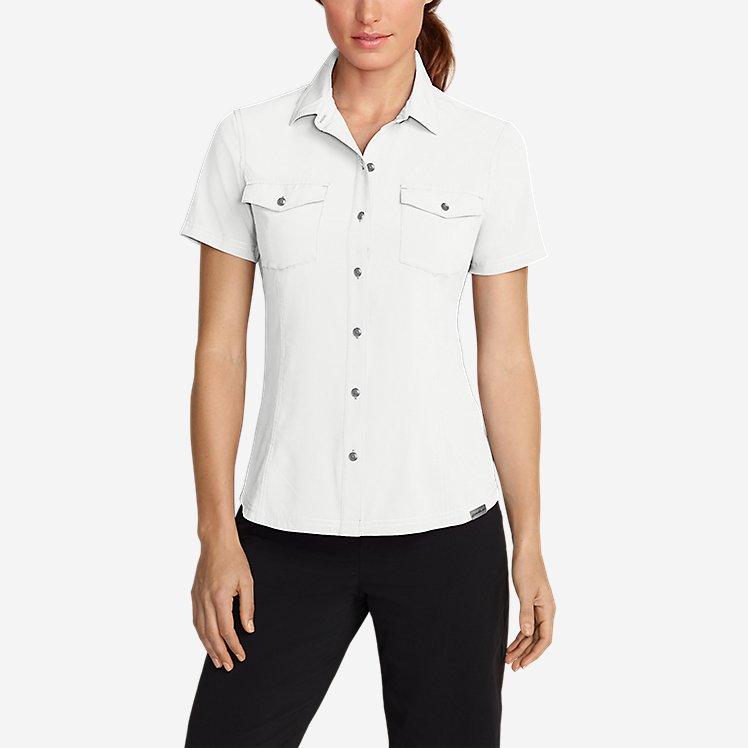 Women's Departure Short-Sleeve Shirt large version