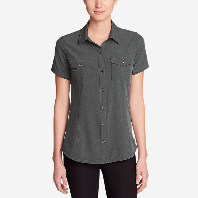 Women's Departure Short-Sleeve Shirt large version