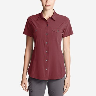 Thumbnail View 1 - Women's Departure Short-Sleeve Shirt