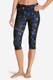 Women's Movement Crop Leggings - Print