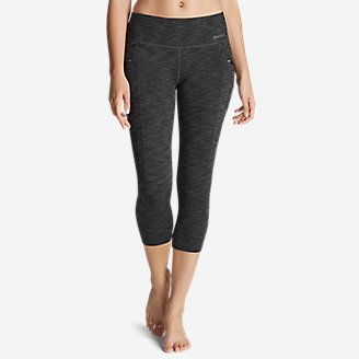 Thumbnail View 1 - Women's Trail Tight Capris - 2D Heather