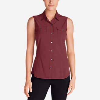 Thumbnail View 1 - Women's Departure Sleeveless Shirt