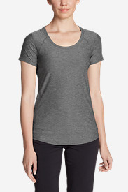 Women's Infinity Scoop-Neck Short-Sleeve T-Shirt
