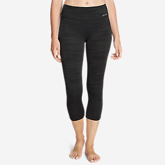 Thumbnail View 1 - Women's Movement Capris - Jacquard