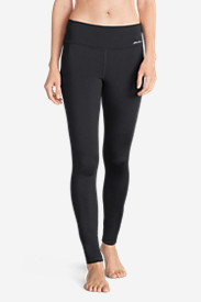 Women's Crossover Fleece Leggings - Solid