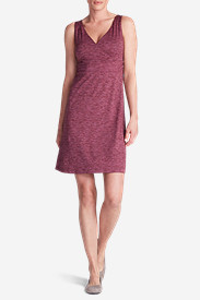 Women's Aster Crossover Dress - Spacedye