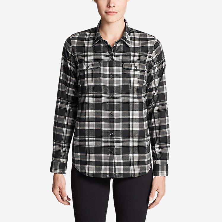 Women's Eddie Bauer Expedition Flex Performance Flannel Shirt large version