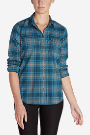 Women's Eddie Bauer Expedition Flex Performance Flannel Shirt