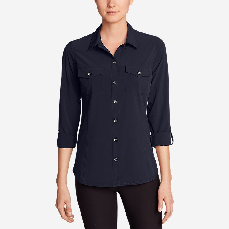 Women's Departure Long-Sleeve Shirt large version