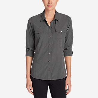 Thumbnail View 1 - Women's Departure Long-Sleeve Shirt