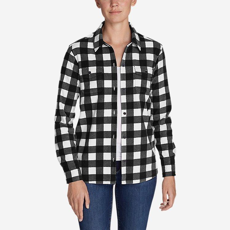 Women's Chutes Fleece Shirt Jacket - Print large version