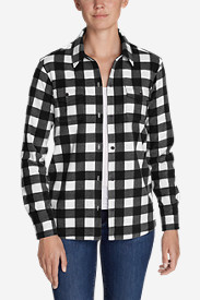 Women's Chutes Fleece Shirt Jacket - Print