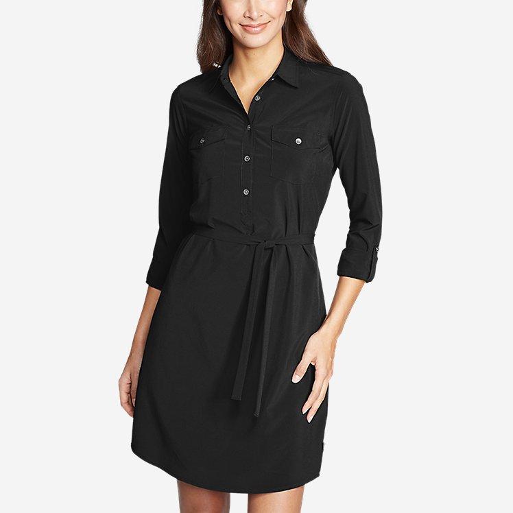 d0431d301e4e Women's Departure Long-Sleeve Shirt Dress large version