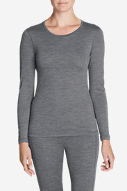 Women's Lightweight FreeDry® Merino Hybrid Baselayer Long-Sleeve Crew